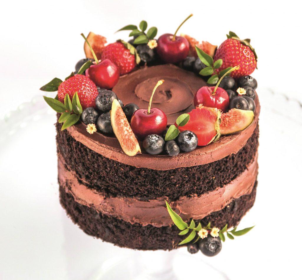 Naked cake (vegano)
