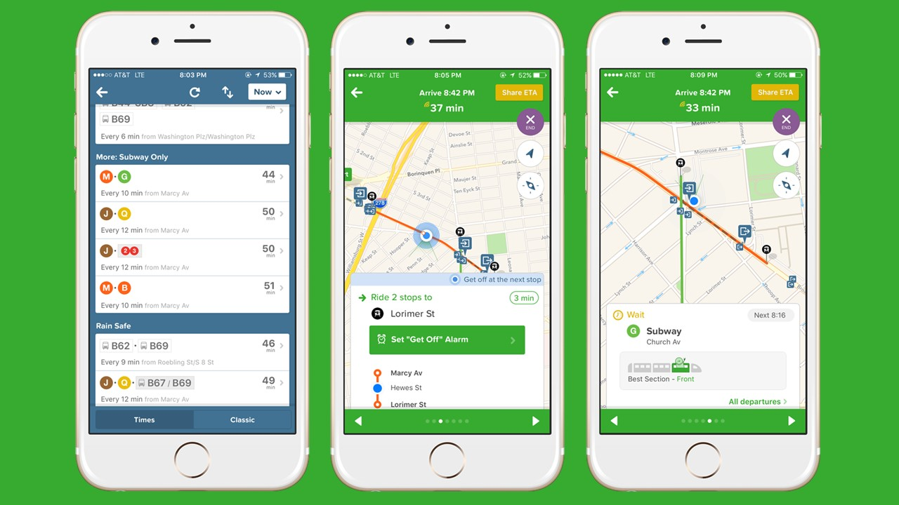 CityMapper - Aplicativo de transporte