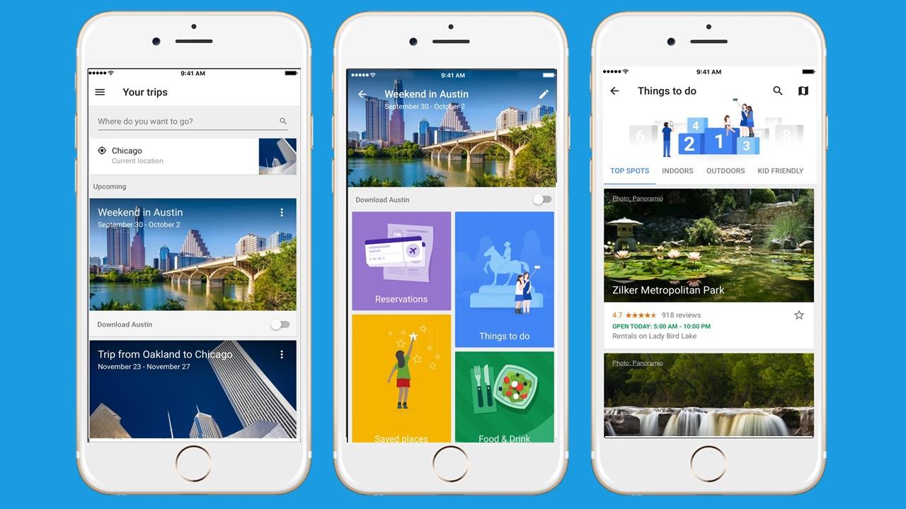 Google Trips - Aplicativo de viagem