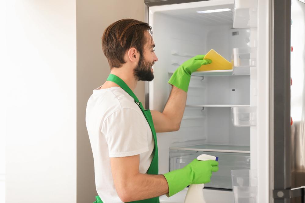 refrigerador - como limpar