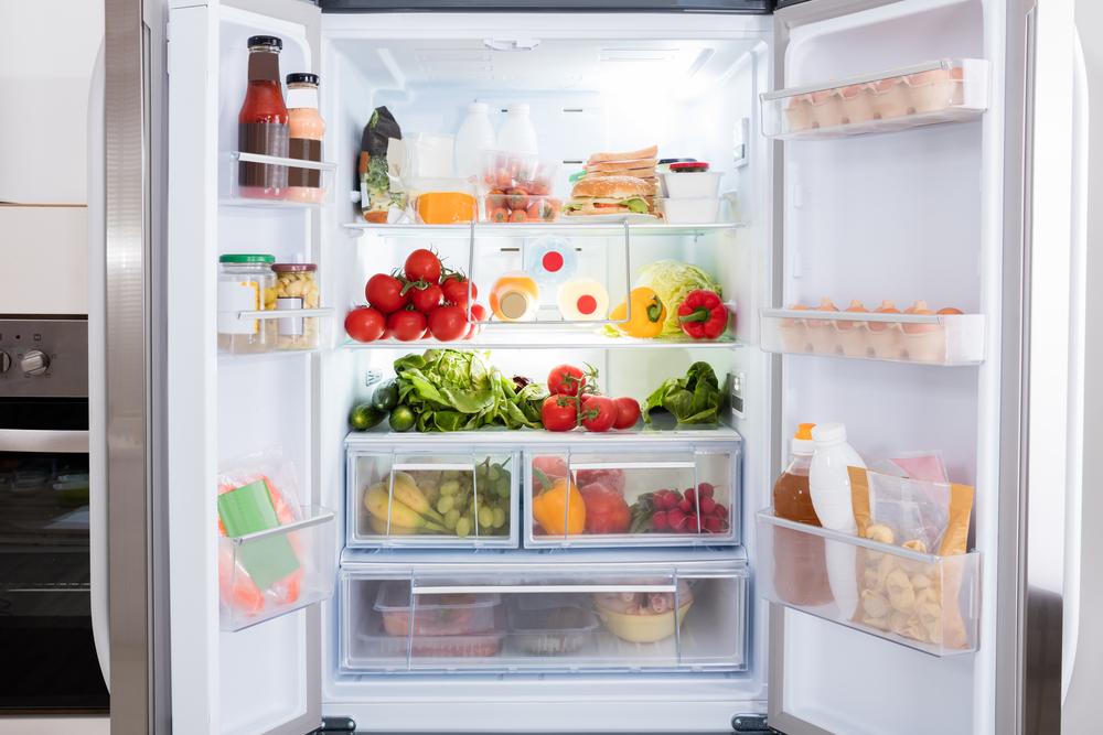 refrigerador - organização dos alimentos