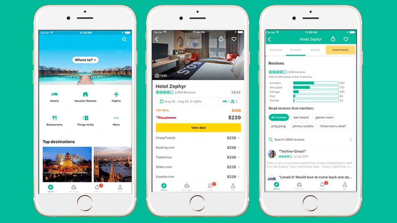 TripAdvisor - Aplicativo de viagem