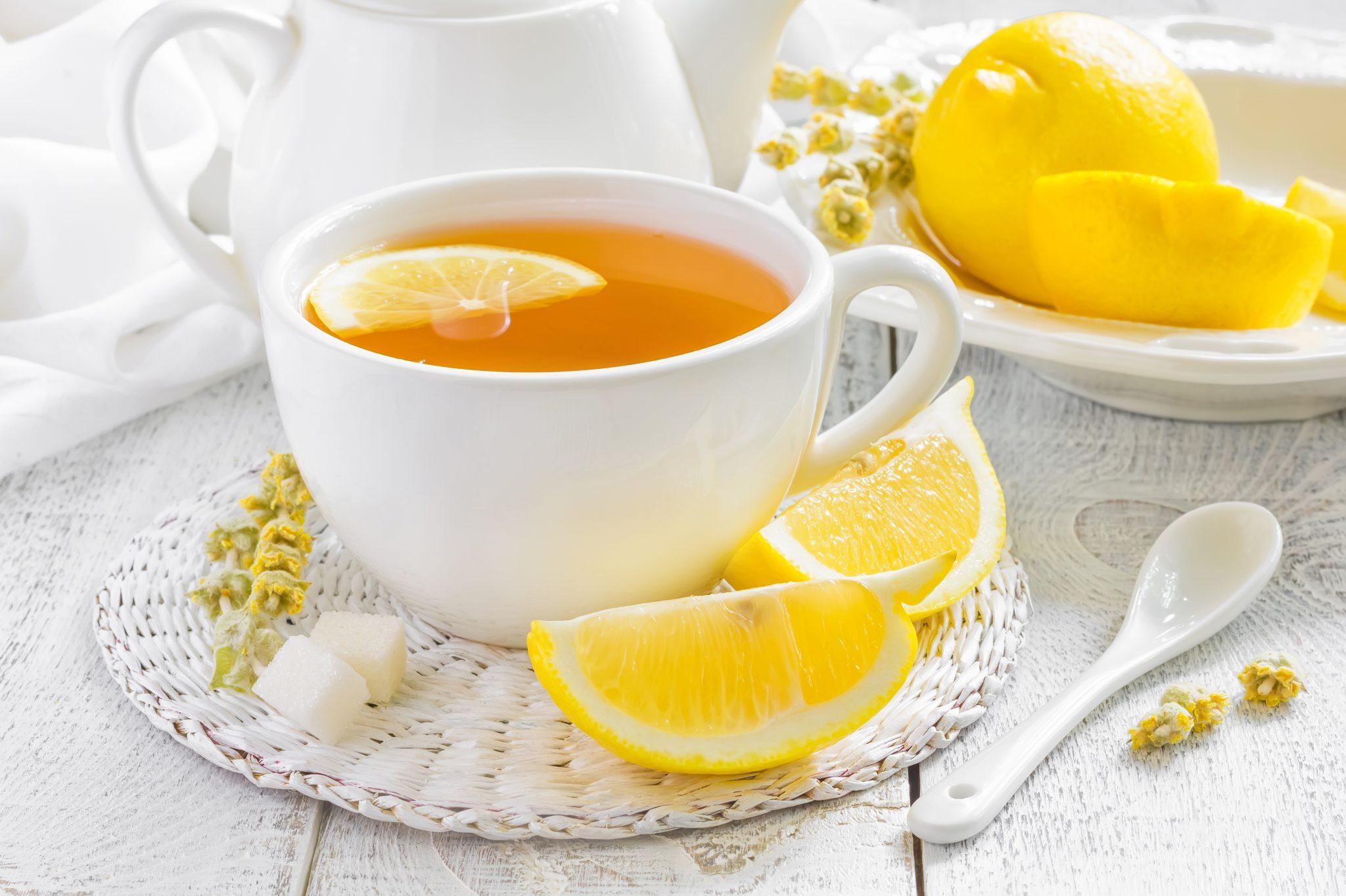 chá (limão)