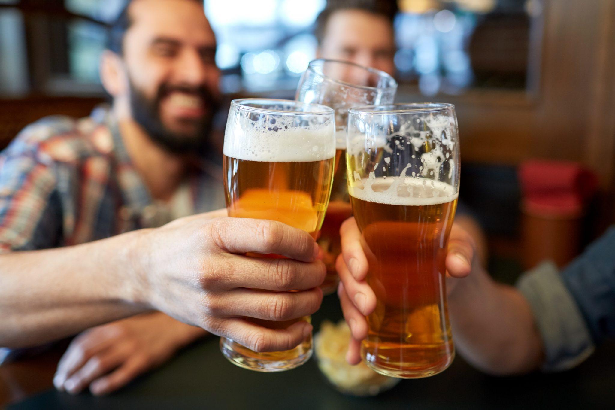 chopp ou cerveja