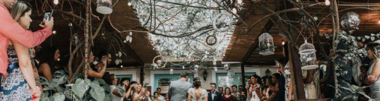 casamento em um restaurante